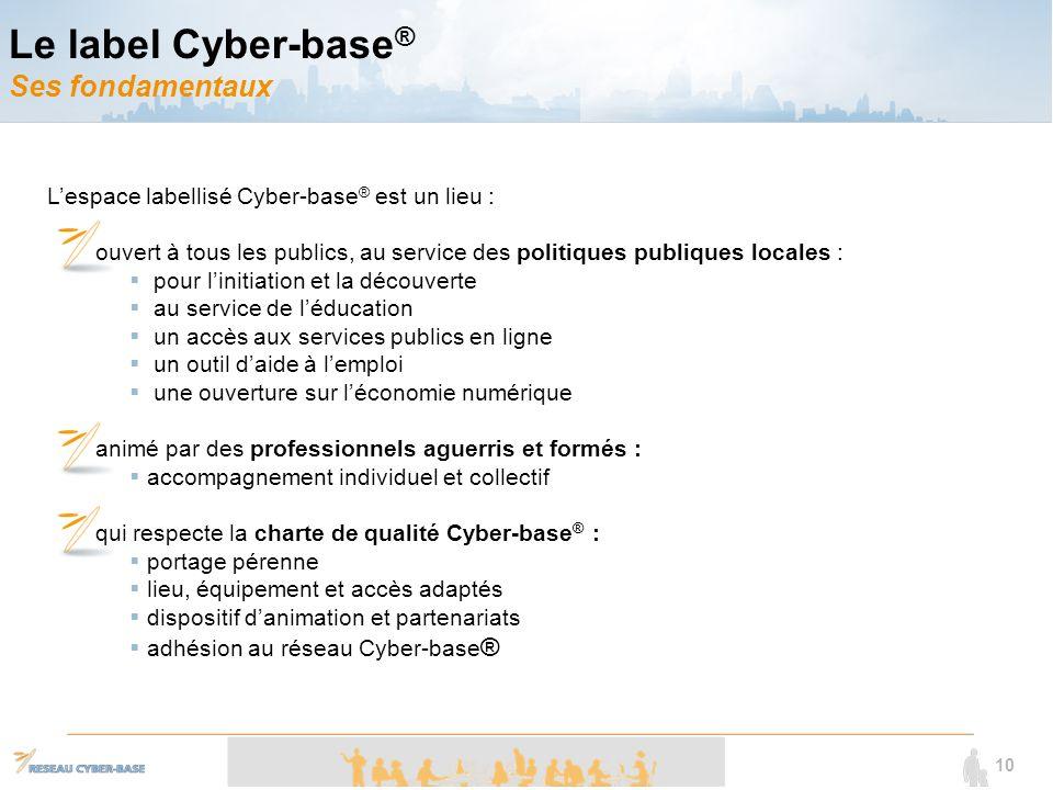 Le label Cyber-base® Ses fondamentaux