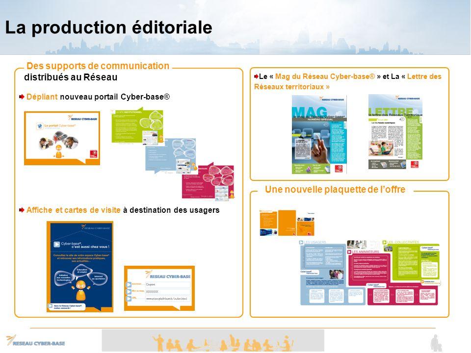 La production éditoriale