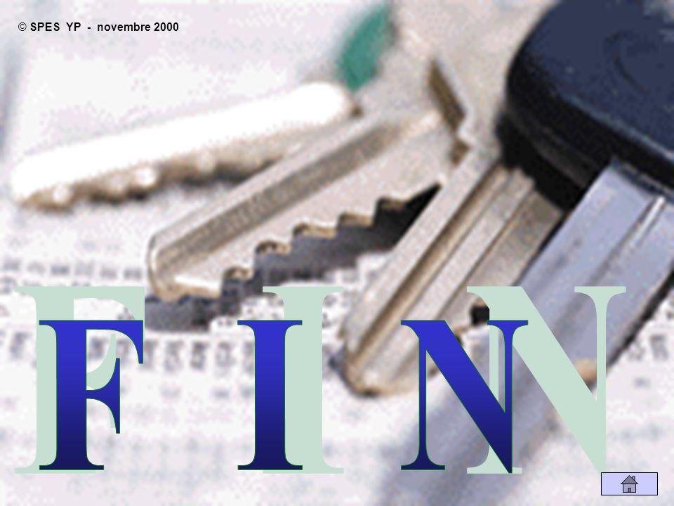 SPES YP - novembre 2000 F I N