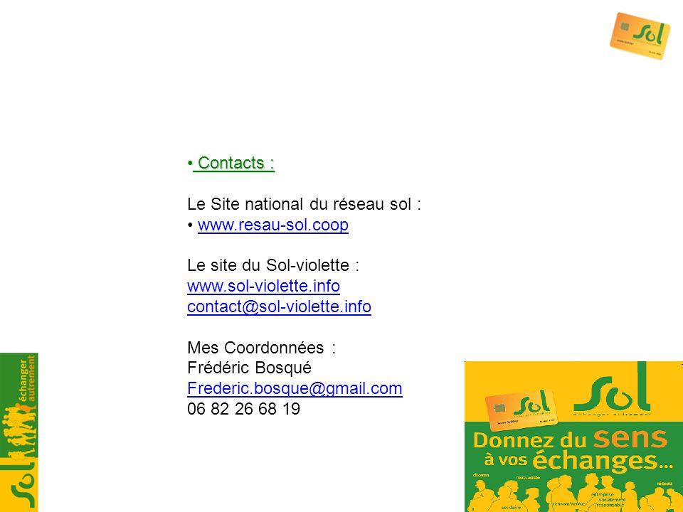 Le Site national du réseau sol : www.resau-sol.coop