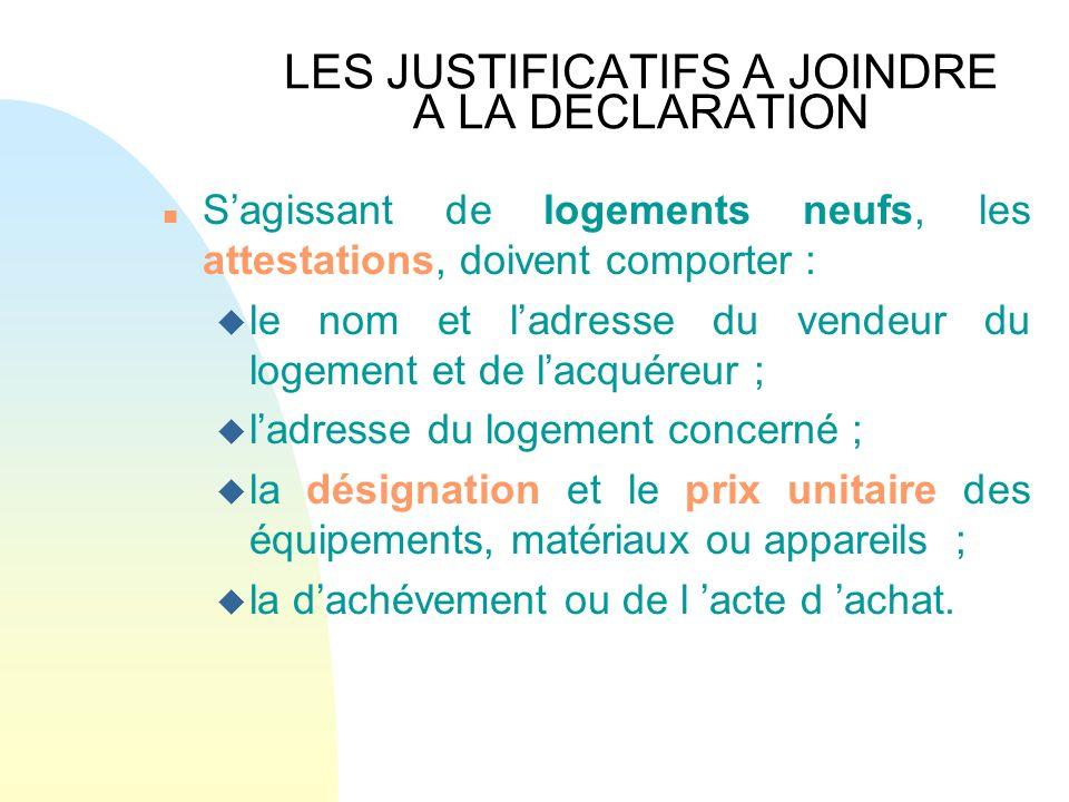 Credit d 39 impot en faveur du developpement durable ppt video online t l charger - Declaration achevement travaux impots ...