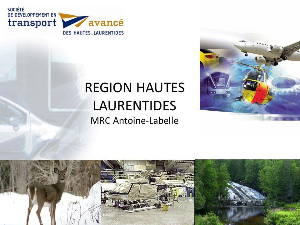 REGION HAUTES LAURENTIDES MRC Antoine-Labelle