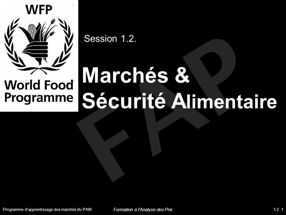 Marchés & Sécurité Alimentaire