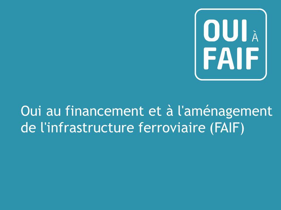Oui au financement et à l aménagement de l infrastructure ferroviaire (FAIF)