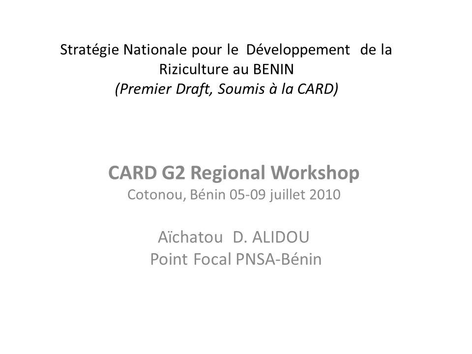 CARD G2 Regional Workshop