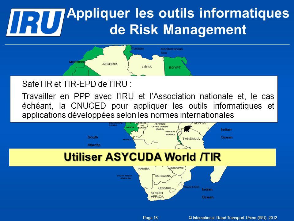 Appliquer les outils informatiques de Risk Management