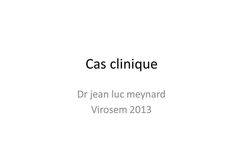 Dr jean luc meynard Virosem 2013