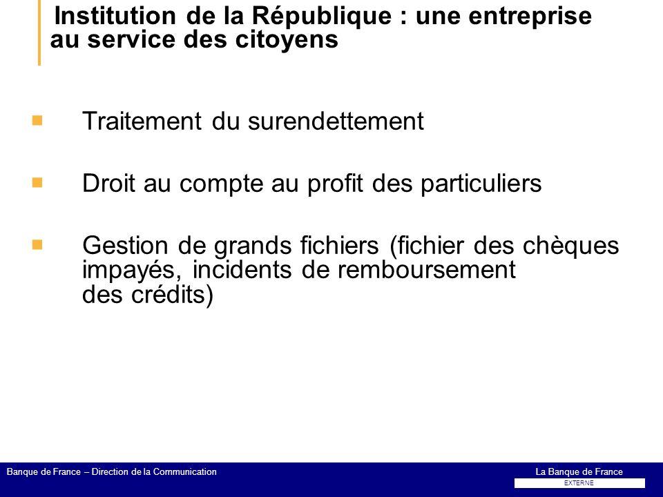 Institution de la République : une entreprise au service des citoyens