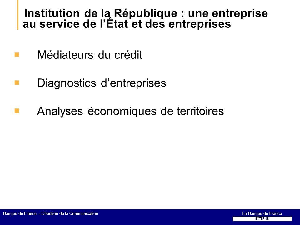Institution de la République : une entreprise au service de l'État et des entreprises