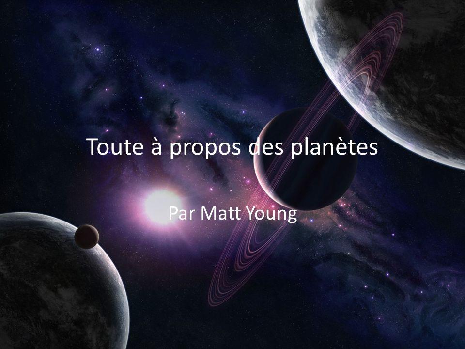 Toute à propos des planètes
