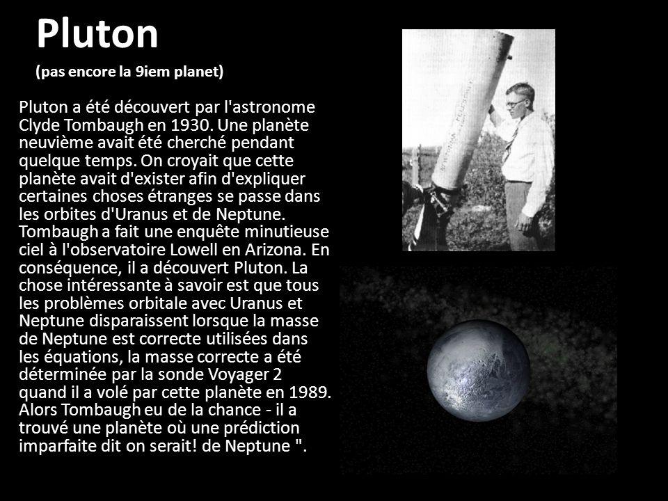 Pluton (pas encore la 9iem planet)