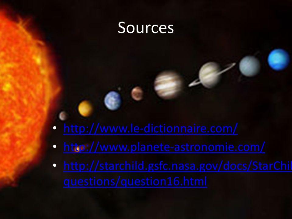 Sources http://www.le-dictionnaire.com/