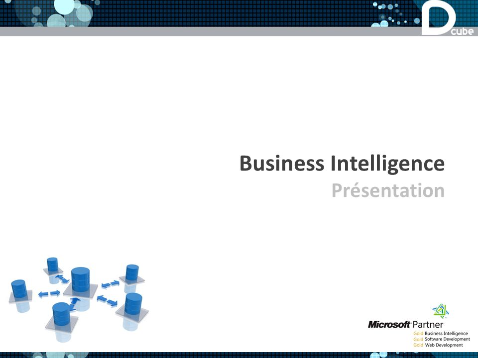 Business Intelligence Présentation