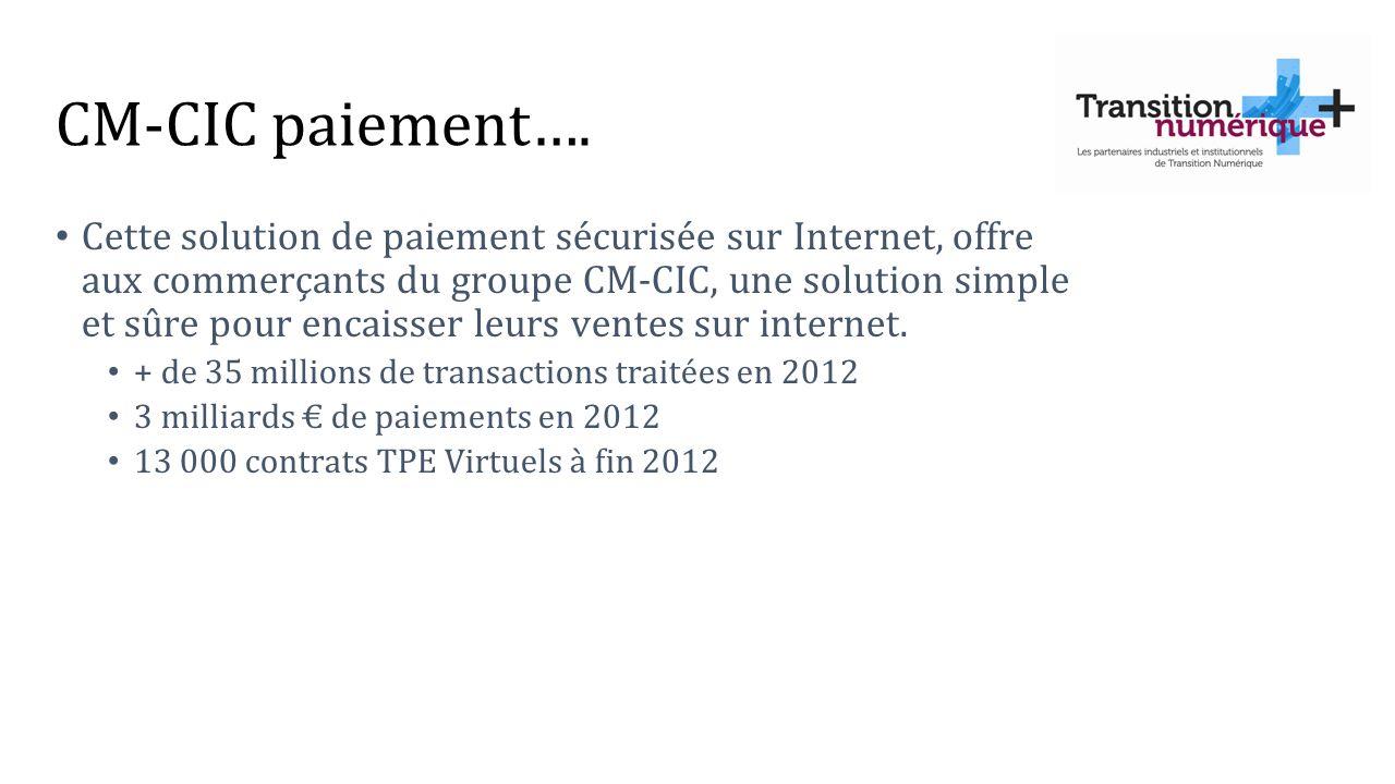 CM-CIC paiement….