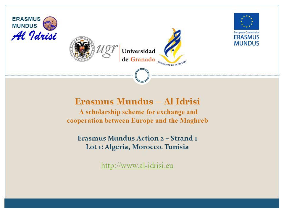 Al Idrisi ERASMUS MUNDUS.