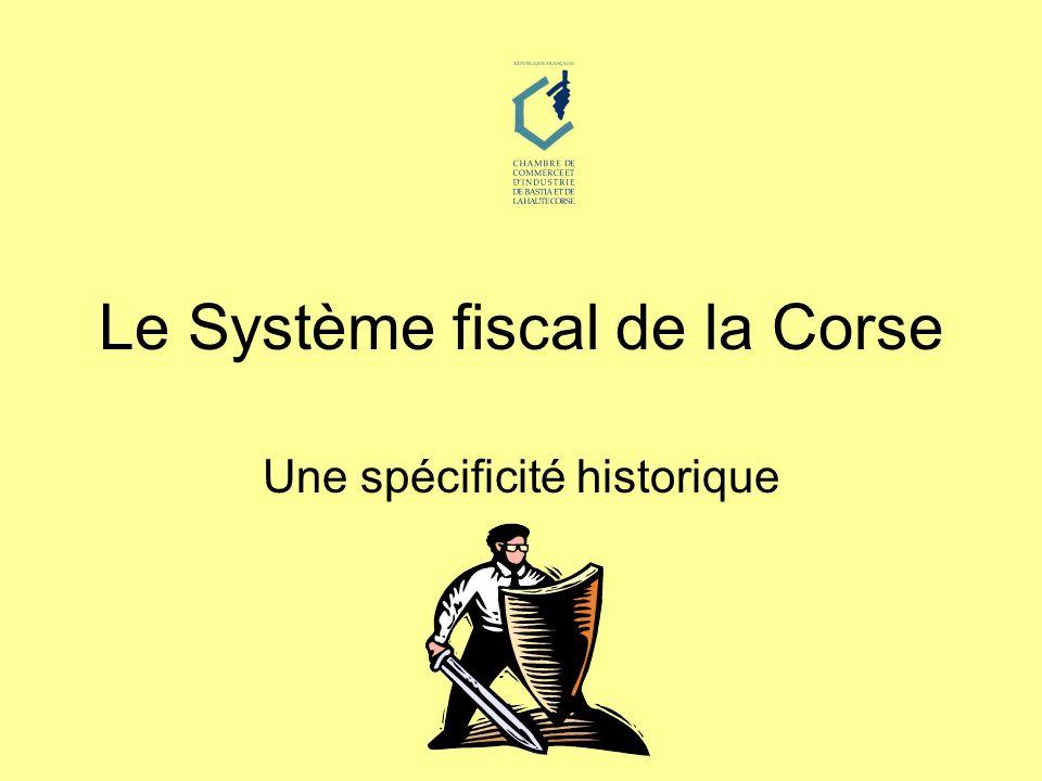 Le Système fiscal de la Corse