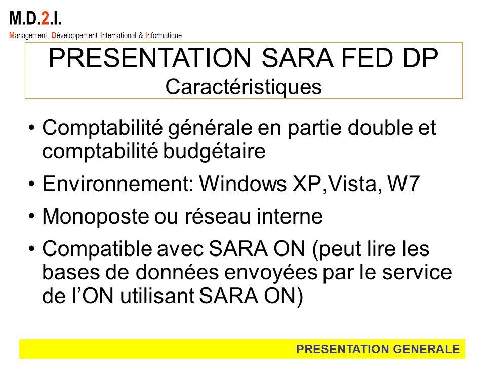 PRESENTATION SARA FED DP