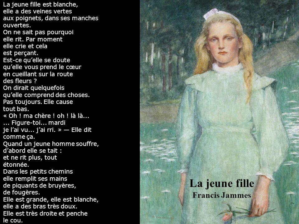 La jeune fille Francis Jammes