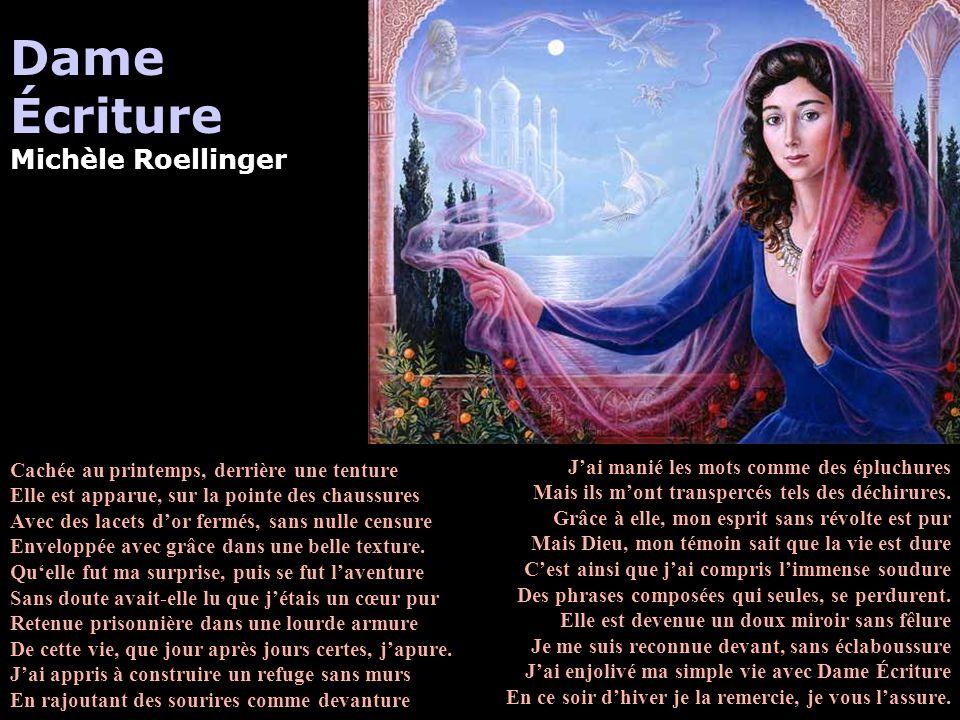 Écriture Michèle Roellinger