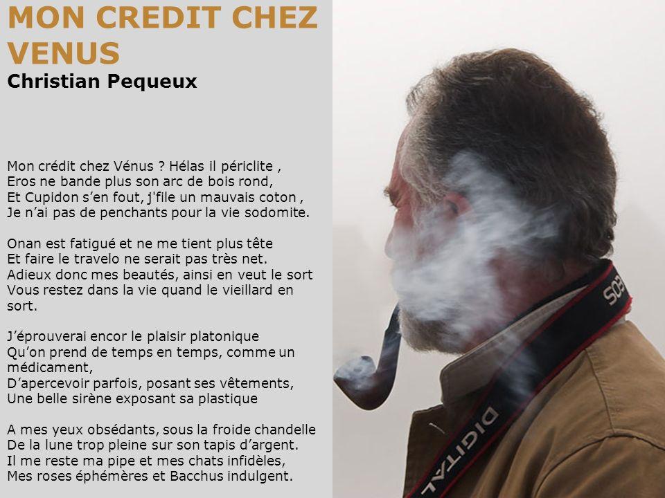 MON CREDIT CHEZ VENUS Christian Pequeux Mon crédit chez Vénus