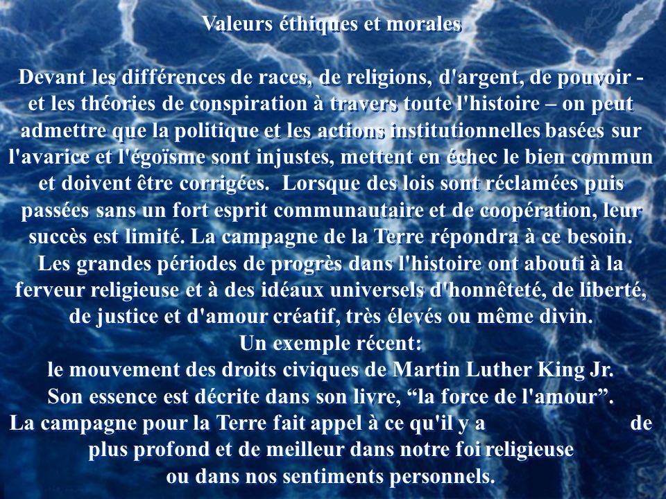Valeurs éthiques et morales