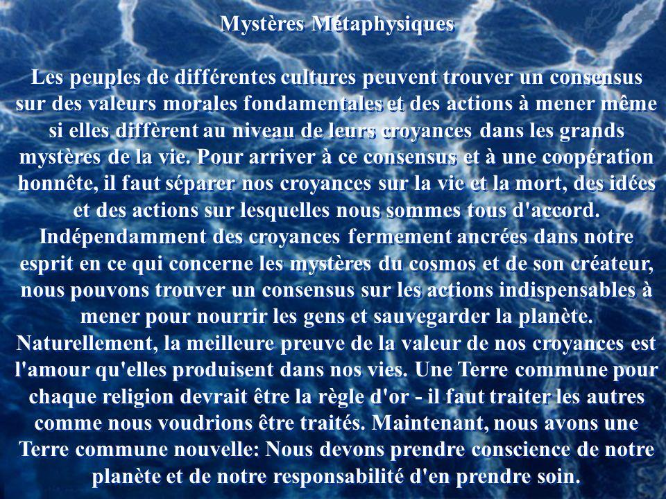 Mystères Métaphysiques