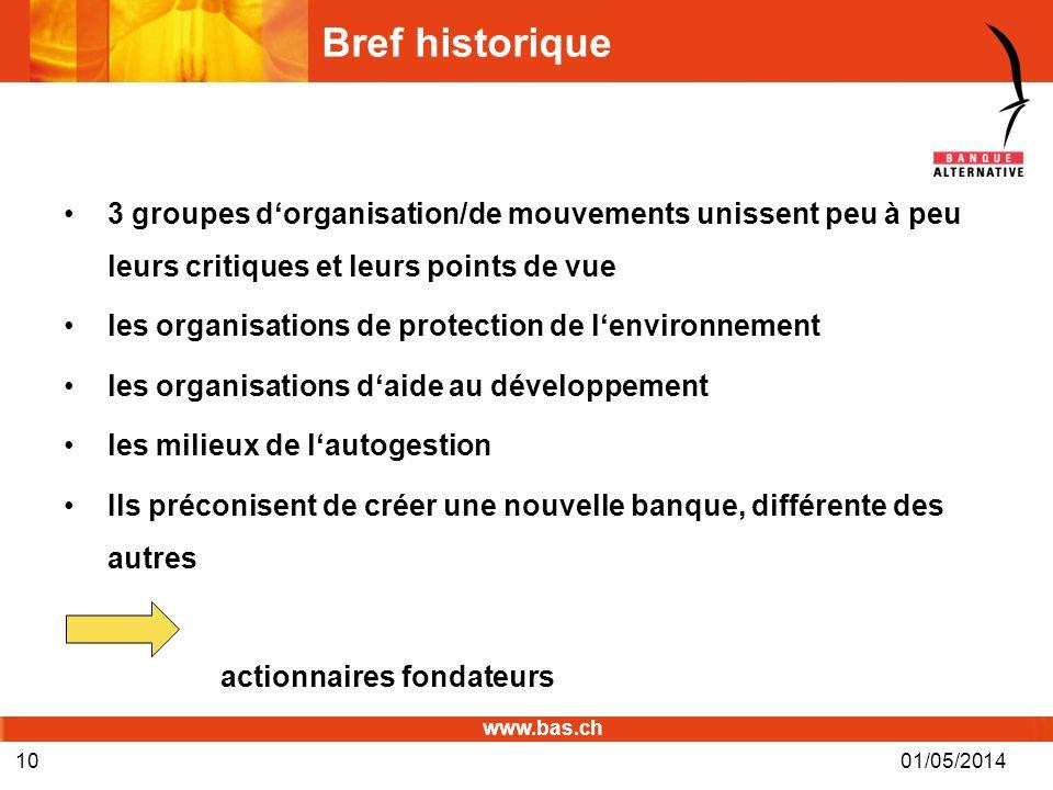 Bref historique 3 groupes d'organisation/de mouvements unissent peu à peu leurs critiques et leurs points de vue.