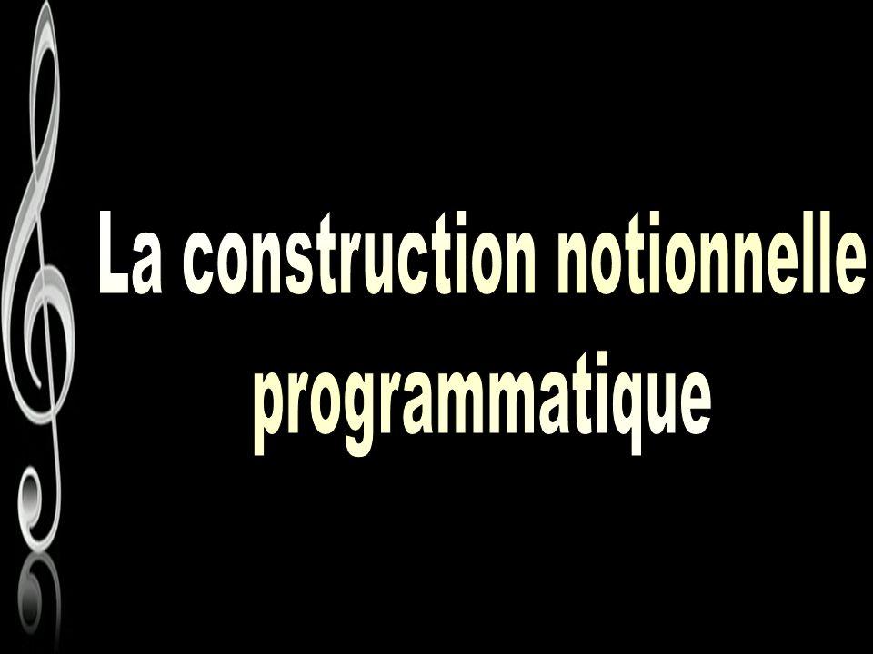 La construction notionnelle