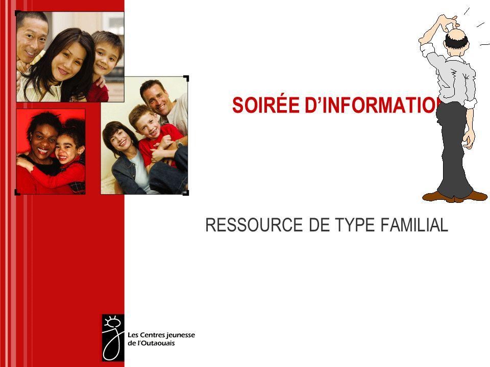 RESSOURCE DE TYPE FAMILIAL
