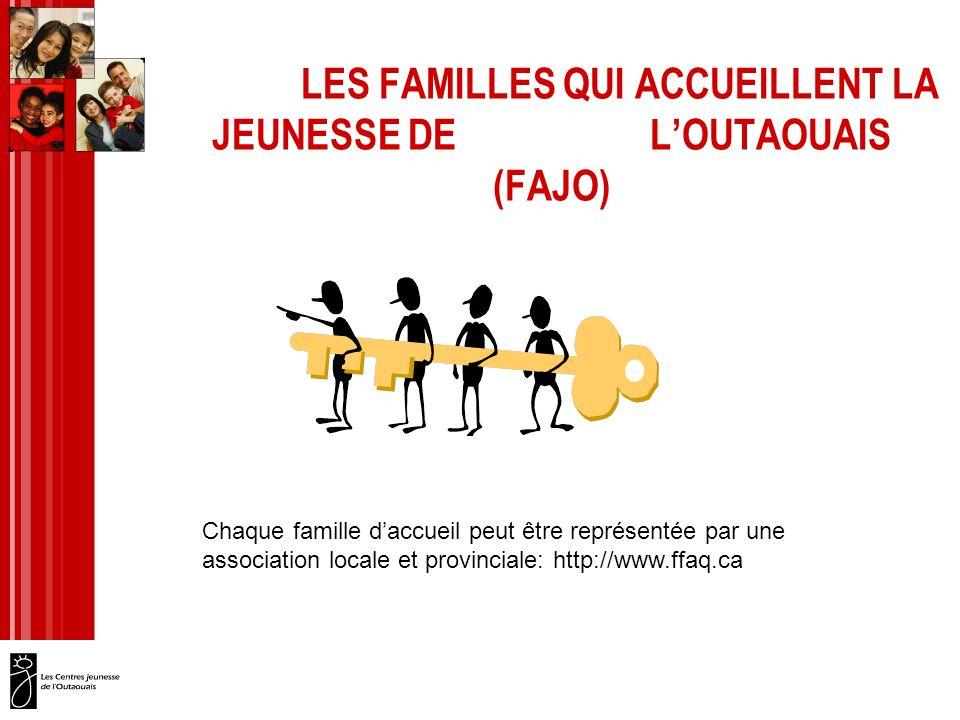 LES FAMILLES QUI ACCUEILLENT LA JEUNESSE DE L'OUTAOUAIS (FAJO)