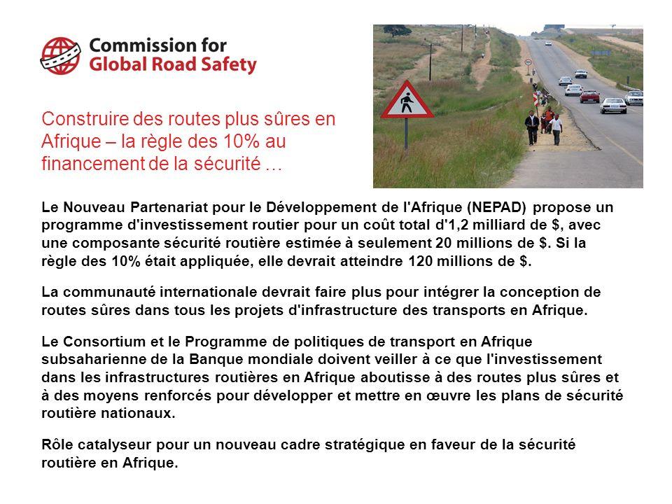 Construire des routes plus sûres en Afrique – la règle des 10% au financement de la sécurité …