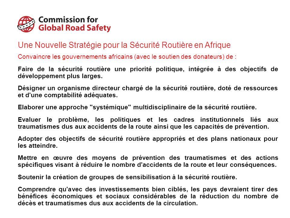 Une Nouvelle Stratégie pour la Sécurité Routière en Afrique