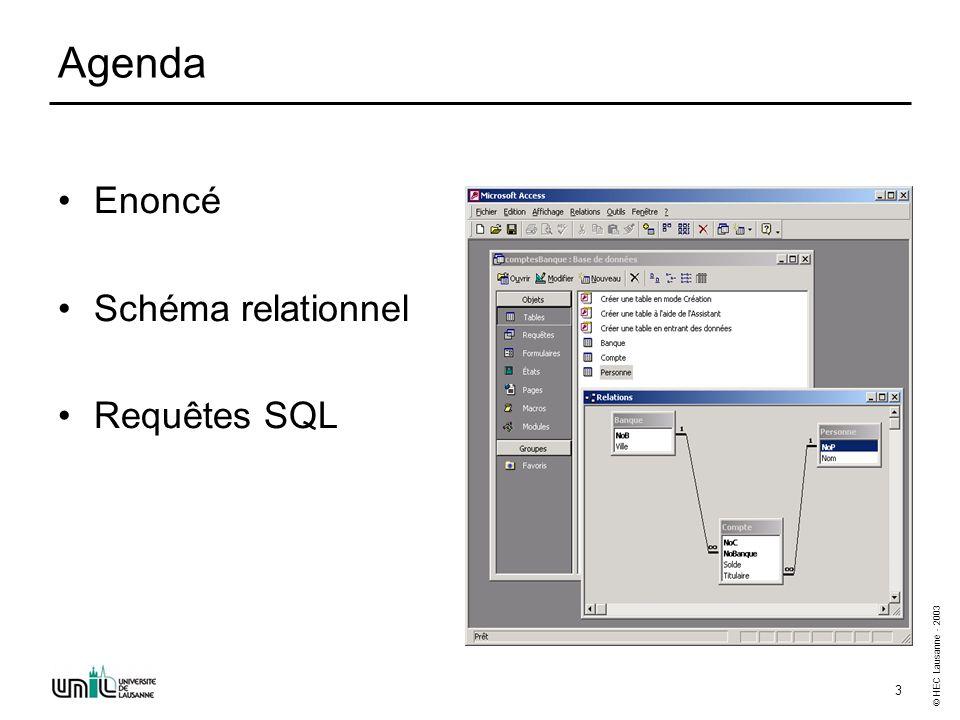 SQL (1) - Exercices - Enoncés