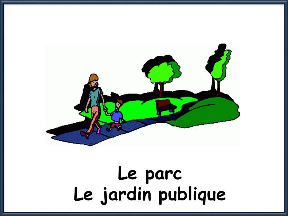 Le parc Le jardin publique