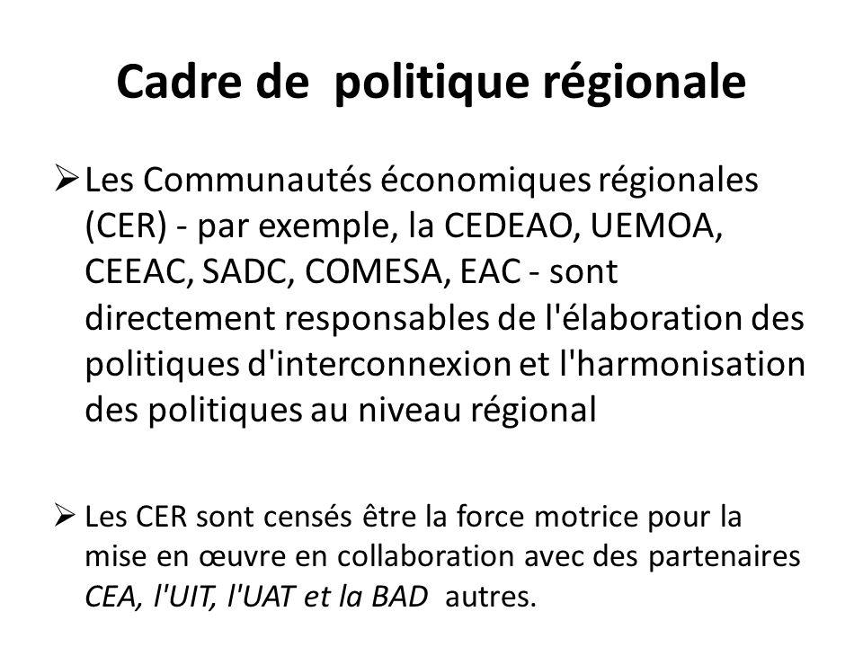 Cadre de politique régionale