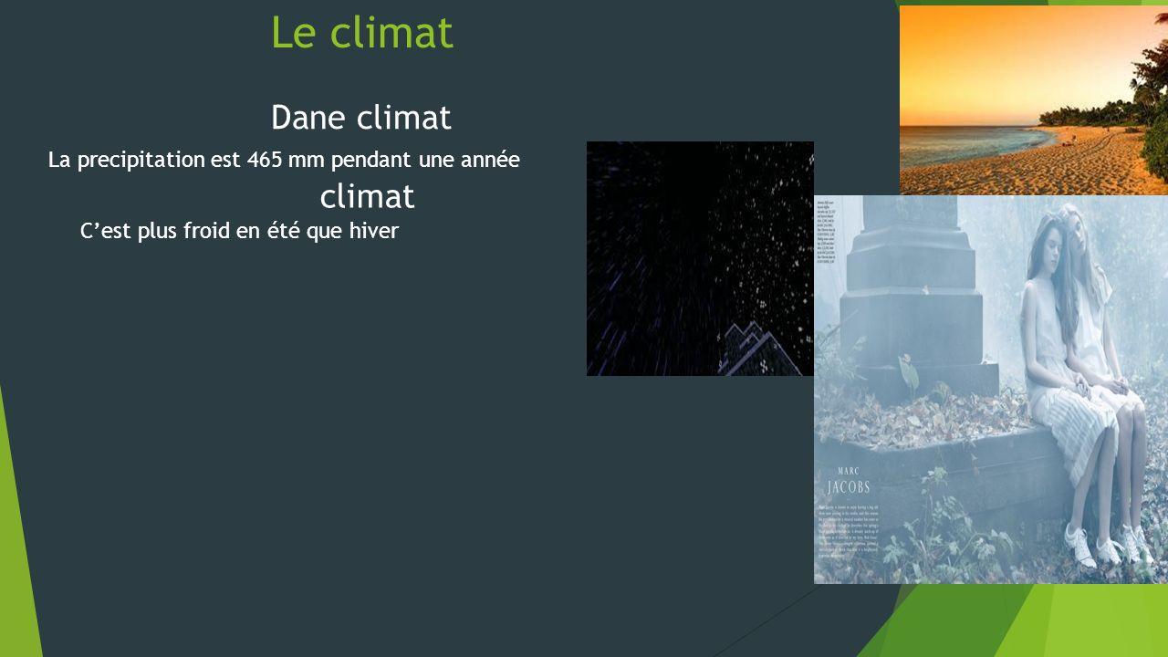 Le climat Dane climat climat