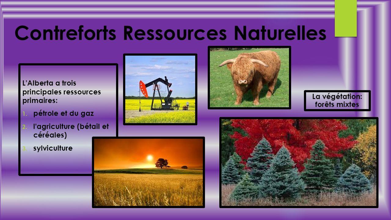 Contreforts Ressources Naturelles