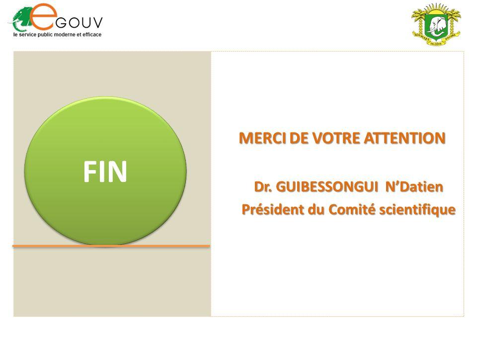 Dr. GUIBESSONGUI N'Datien Président du Comité scientifique