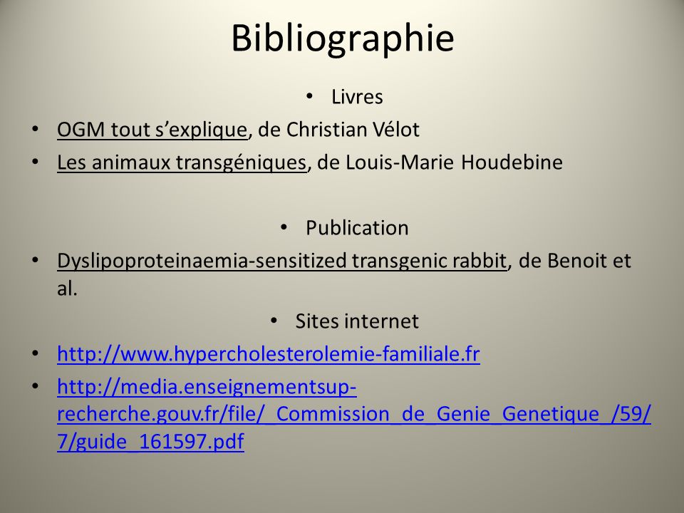 Bibliographie Livres OGM tout s'explique, de Christian Vélot