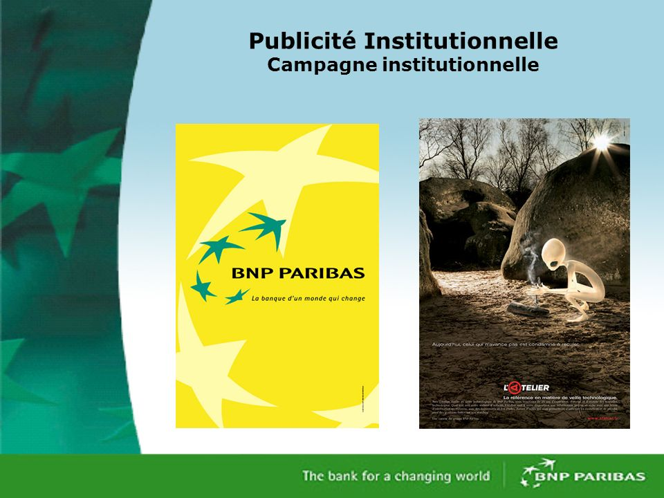 Publicité Institutionnelle Campagne institutionnelle