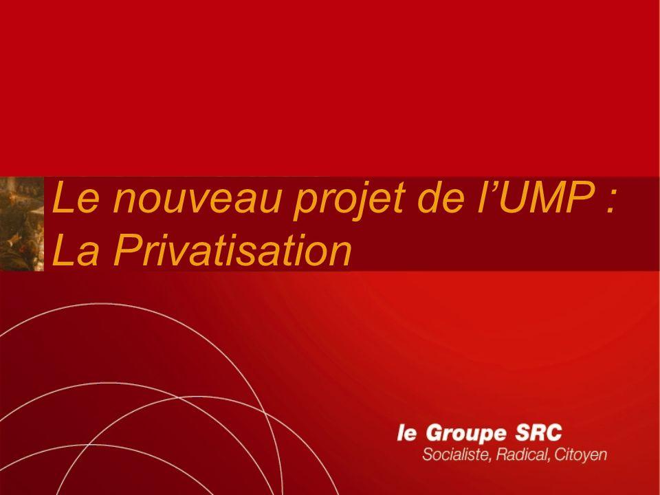 Le nouveau projet de l'UMP :