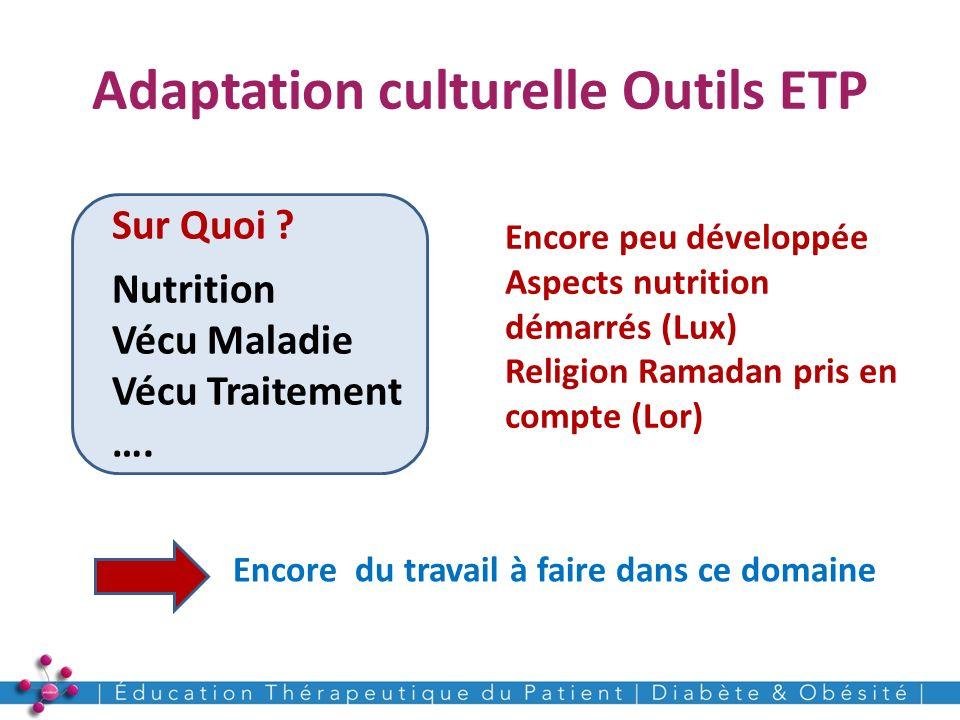Adaptation culturelle Outils ETP