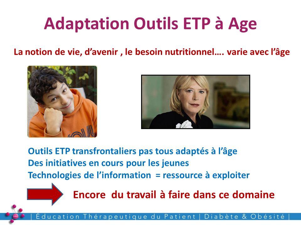 Adaptation Outils ETP à Age