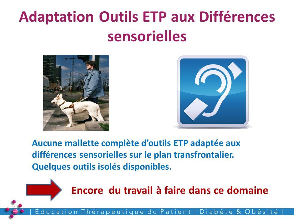 Adaptation Outils ETP aux Différences sensorielles