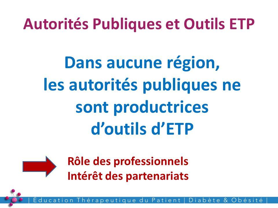 Autorités Publiques et Outils ETP