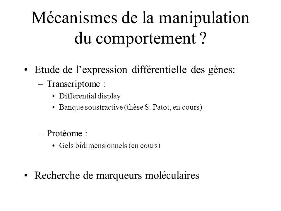 Mécanismes de la manipulation du comportement