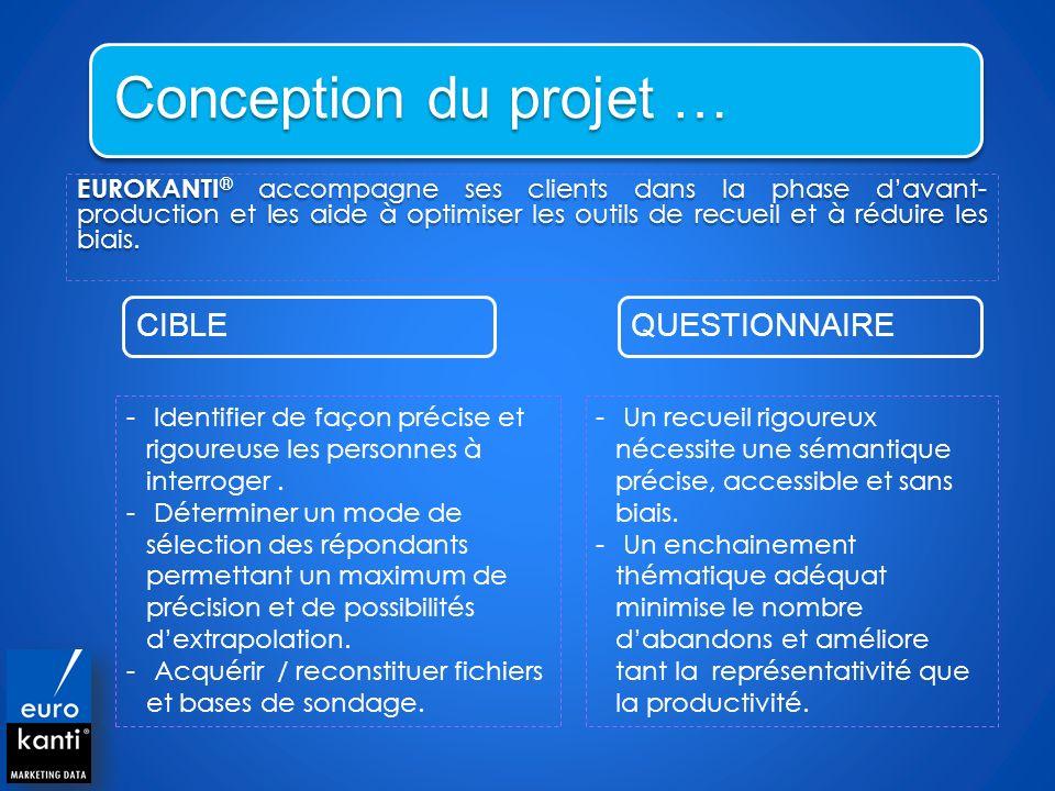Conception du projet …