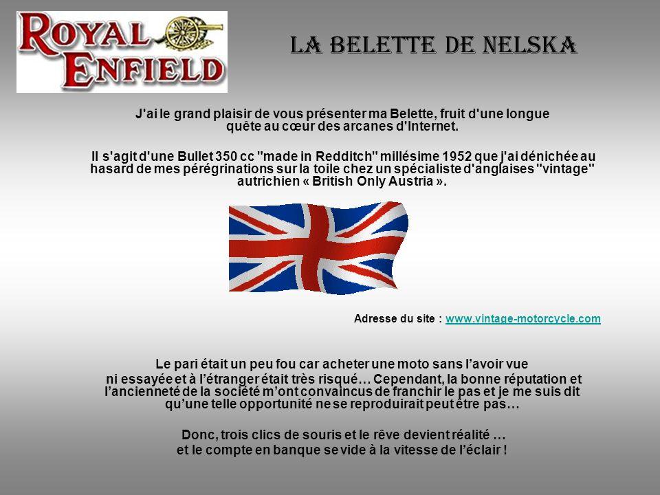 La Belette de Nelska J ai le grand plaisir de vous présenter ma Belette, fruit d une longue quête au cœur des arcanes d Internet.