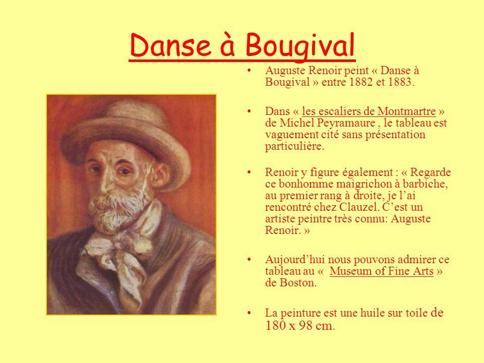 Danse à Bougival Auguste Renoir peint « Danse à Bougival » entre 1882 et 1883.