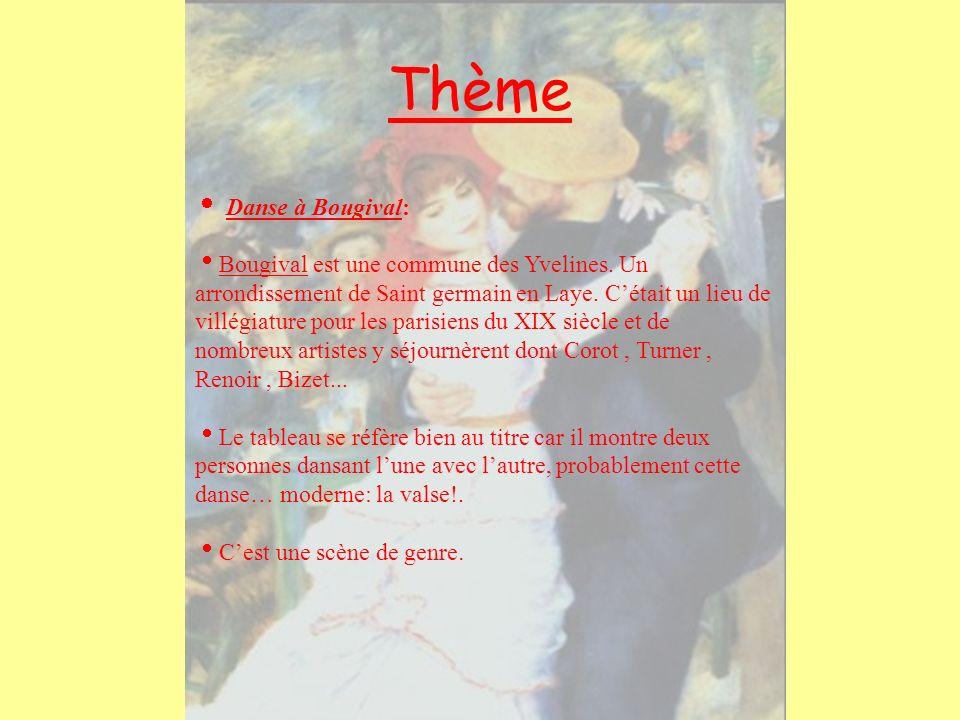 Thème  Danse à Bougival: